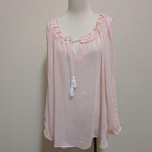 Tommy Hilfiger blouse sexy size XL Pink